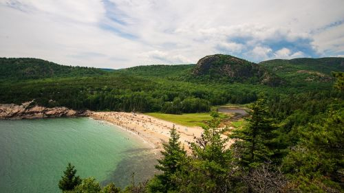 coastline sand beach