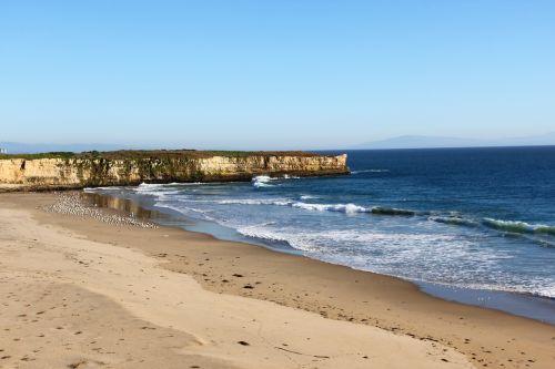 coastline shore beach