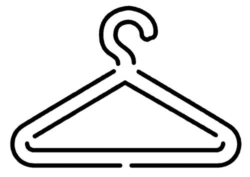 coat hanger hanger clothing