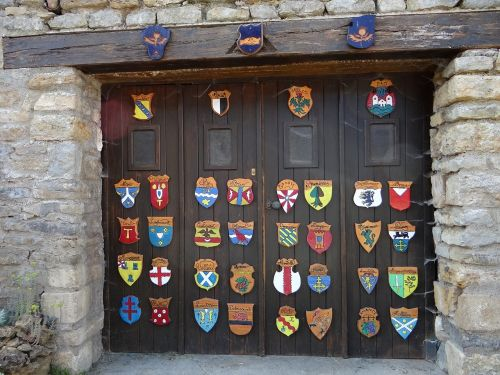 coat of arms garage door