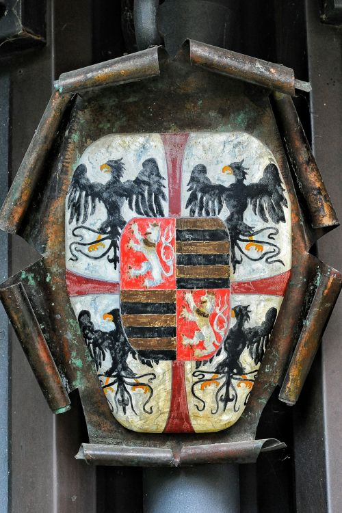 coat of arms texture paint