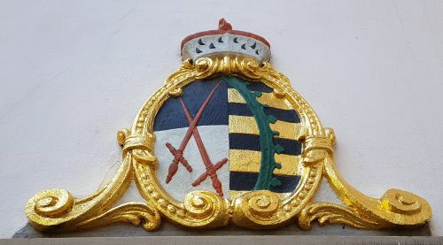 coat of arms saxony gold
