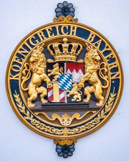 coat of arms  bavaria  emblem