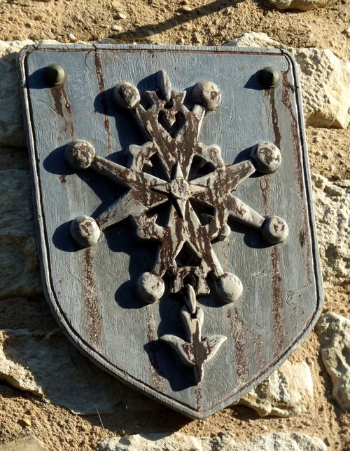 coat of arms  protestant  the poet-laval
