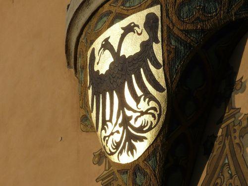 coat of arms adler golden