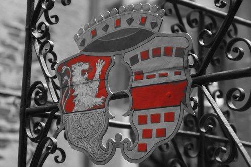 coat of arms  metal  symbol