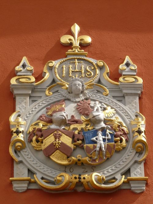 coat of arms alliance coat vicarage