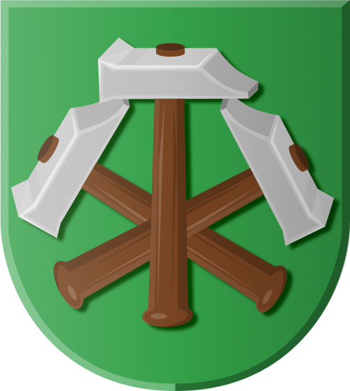 coat of arms beets hammers