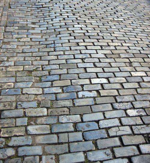 cobblestone cobblestones street