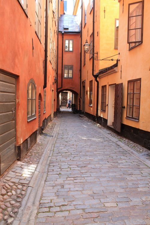 cobblestone stockholm europe