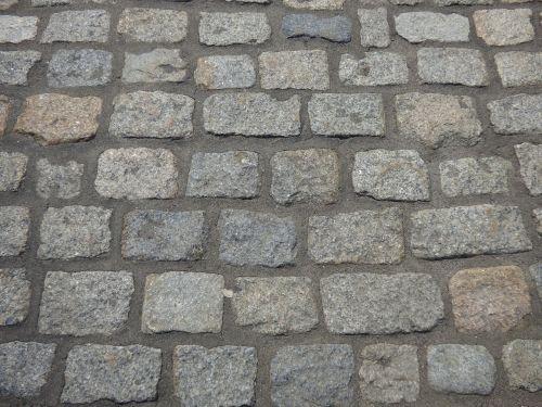 cobblestone street bricks