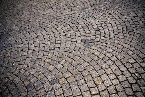 cobblestone  patch  road
