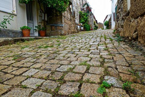 cobblestones street pavement