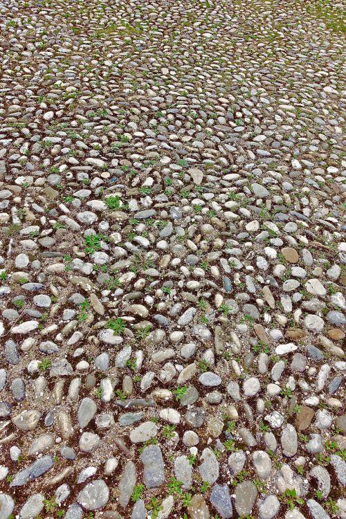 cobblestones pavement pattern