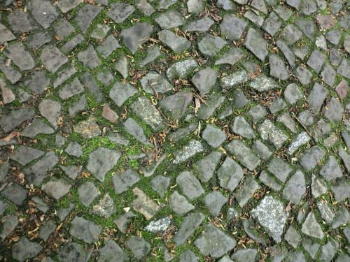 cobblestones ground stones