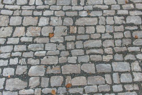 cobblestones paving stones stones