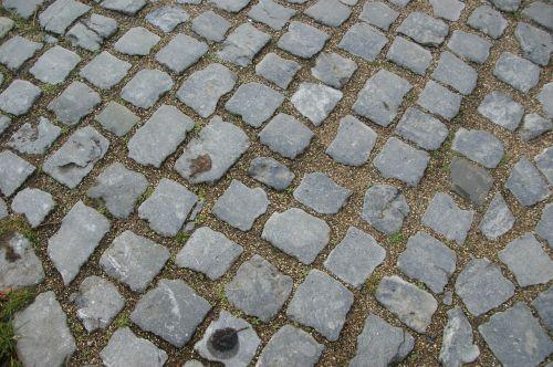 cobblestones background paving