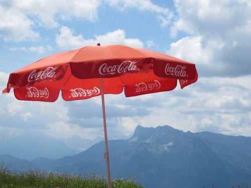 coca cola coka parasol