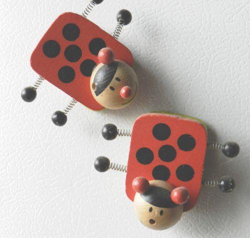 Wooden Ladybugs