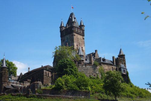 cochem castle view