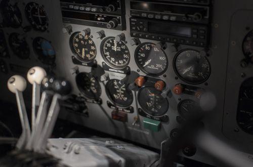 cockpit flight controls