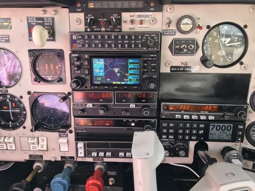 cockpit fittings interior