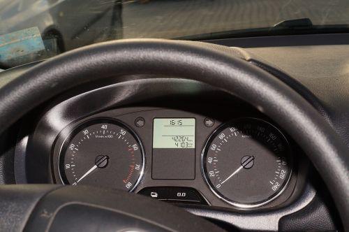 cockpit auto speedometer