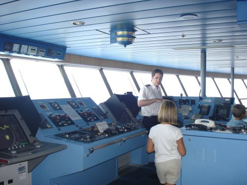 cockpit captain ferry