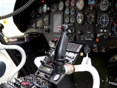 cockpit helicopter control