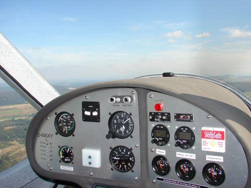 cockpit aircraft light aircraft