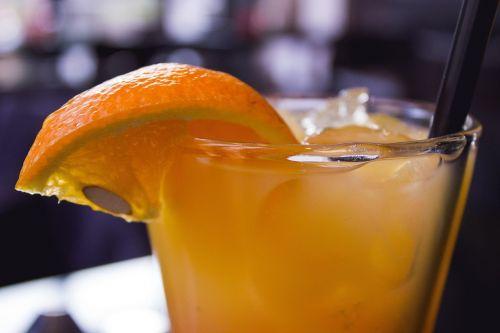 cocktail drink orange