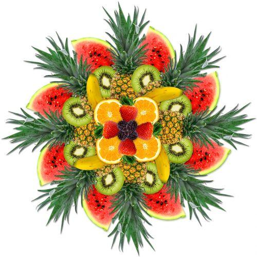 cocktail fruit background