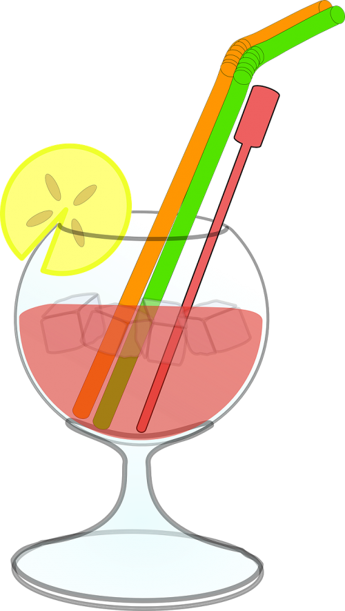 cocktail drink ice