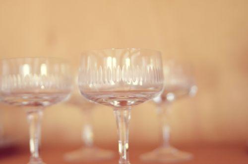 cocktail glasses drink