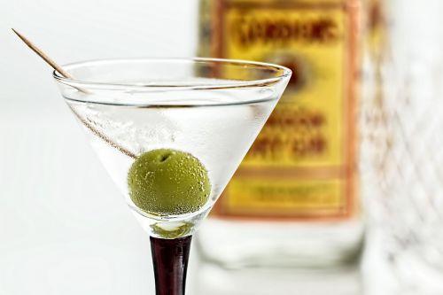 cocktail martini gin