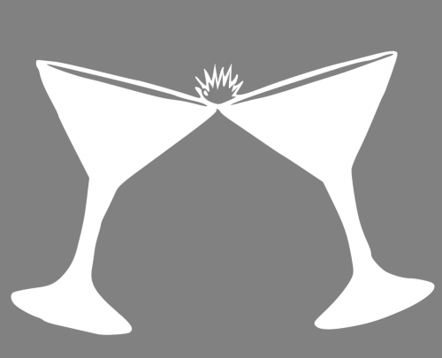 cocktail glasses martini margarita