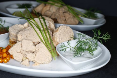 cod roe cooked giblets
