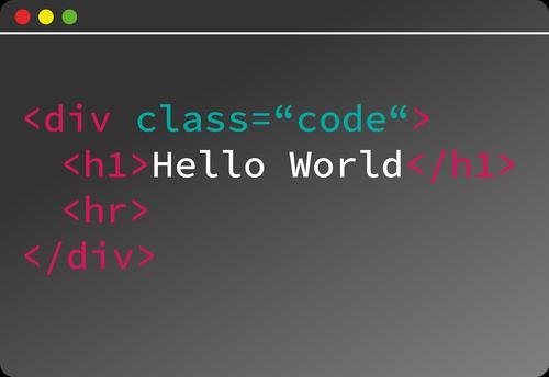 code  programming  html