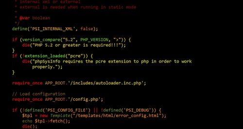 code php web