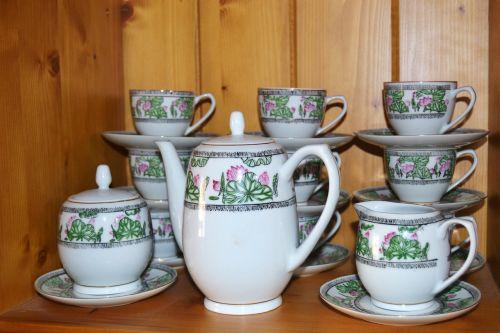 cofee tea dishes