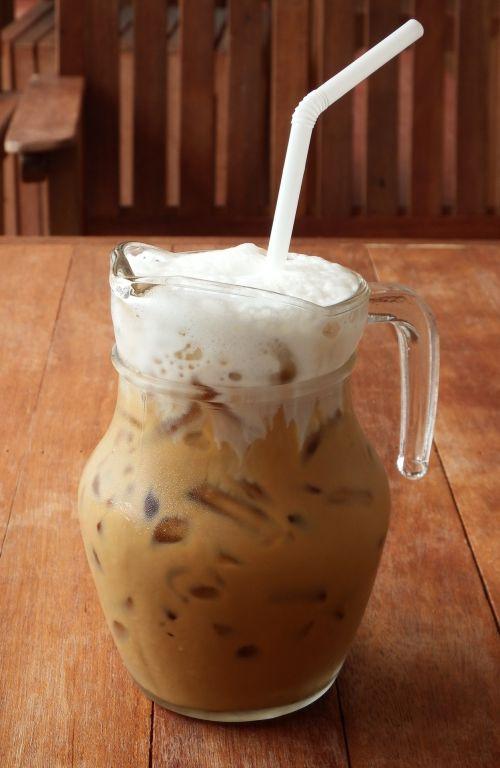 Coffee In A Glass Jug