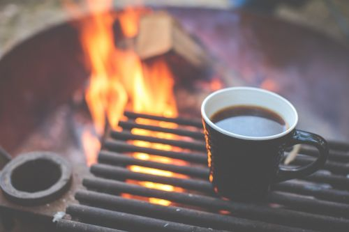 coffee grill fire