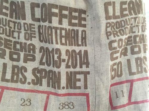 coffee jute bag