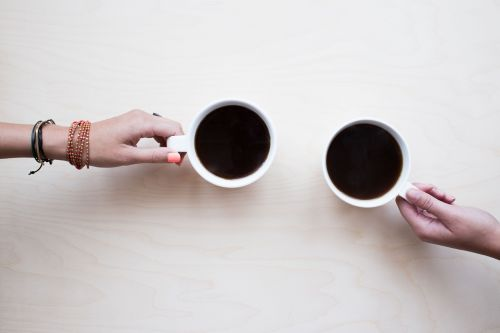 coffee friends chat