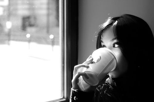 coffee woman drink