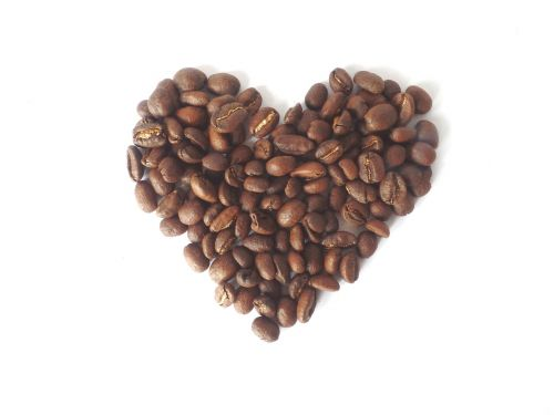 coffee heart love