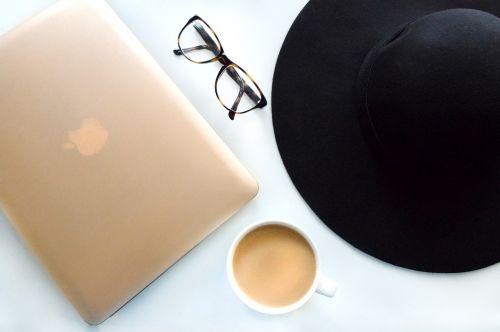 coffee eye glasses hat