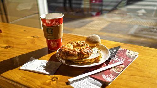 coffee bagel break