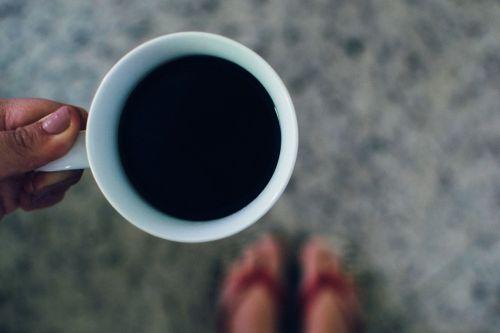 coffee hands beverage
