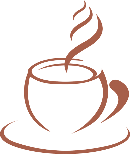 coffee template stylized